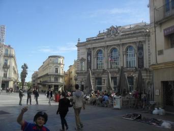 Montpellier Place de Comedie